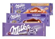 Milka čokoláda 3 druhy 270 g - 300 g