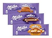 Milka čokoláda 3 druhy od 270 g do 300 g