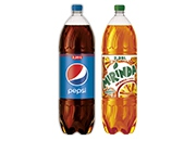 Pepsi 2,25 l Mirinda pomaranč 2,25 l
