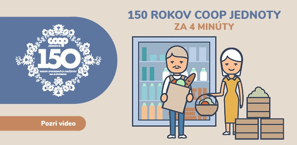 150 rokov COOP Jednoty