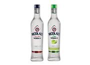 Nicolaus Vodka Extra Jemná 2 druhy 38% 0,7 l