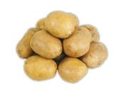 Zemiaky konzumné žlté skoré prané 1 kg