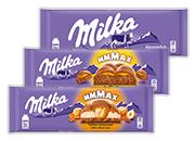 Milka čokoláda 3 druhy od 250 g do 300 g