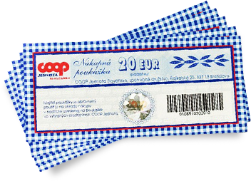 Nakupne Poukazky Coop Jednota Slovensko Https Www Coop Sk