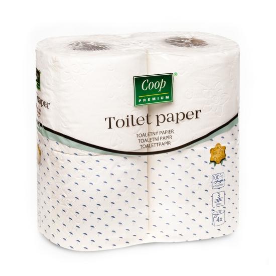 Toaletný papier 4ks
