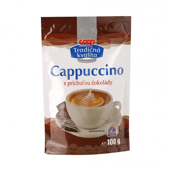 Cappuccino chocolate 100g