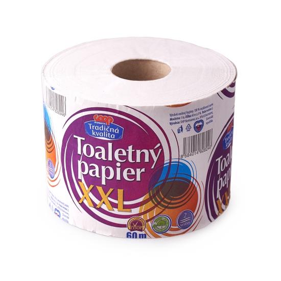 Toaletný papier XXL