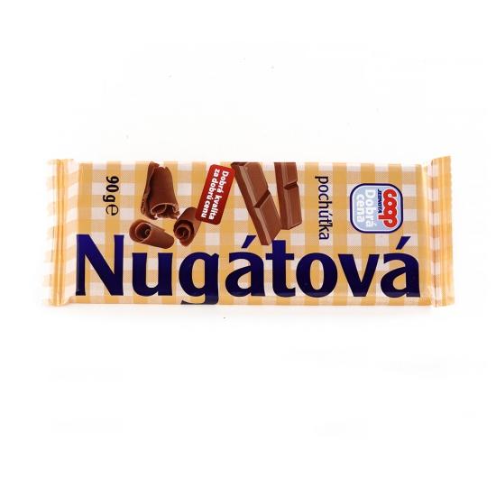 Pochúťka nugátová 90g