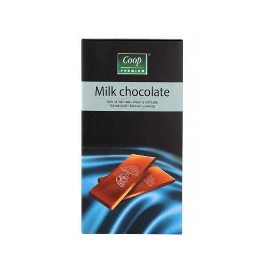 Čokoláda mliečna 80g