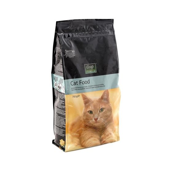 Suché krmivo pre mačky 750g