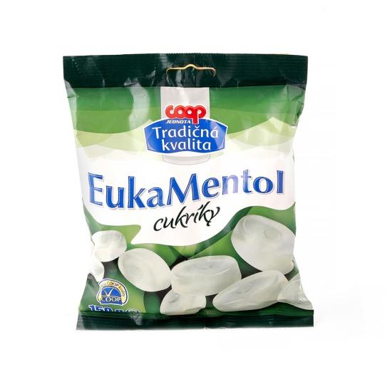 Cukríky eukamentol 150g