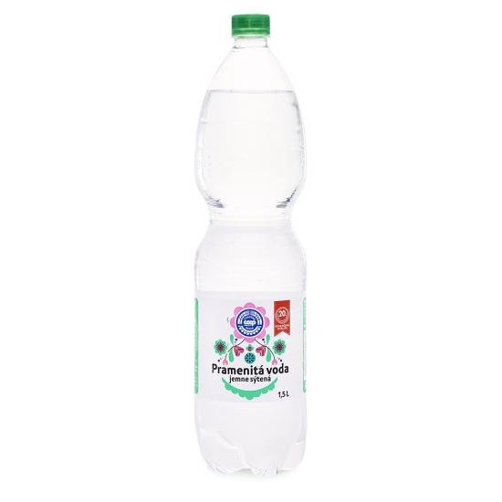 Pramenitá voda jemne sýtená 1,5 l