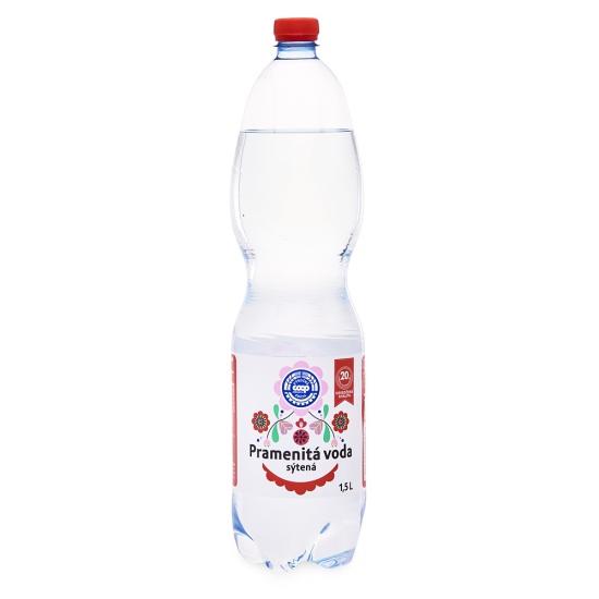 Pramenitá voda sýtená 1,5 l