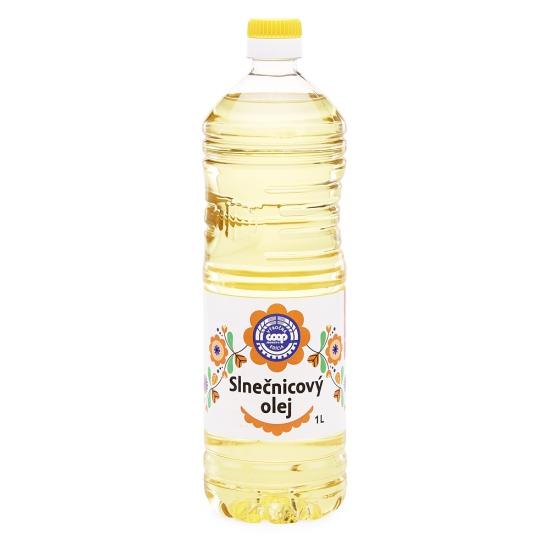 Slnečnicový olej 1 l
