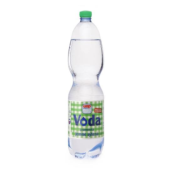 Pramenitá voda jemne sýtená 1,5l