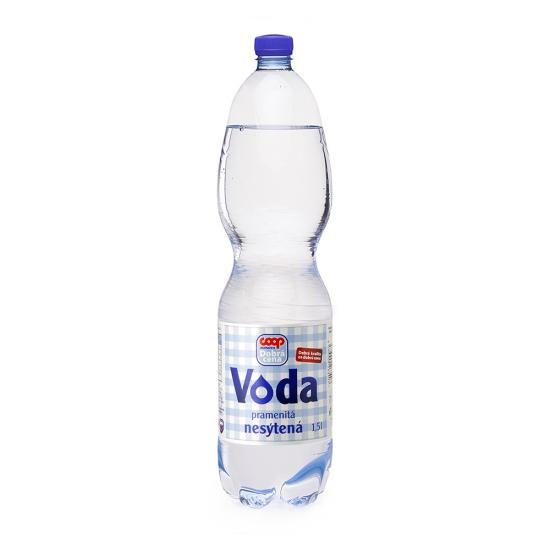 Pramenitá voda nesýtená 1,5 l