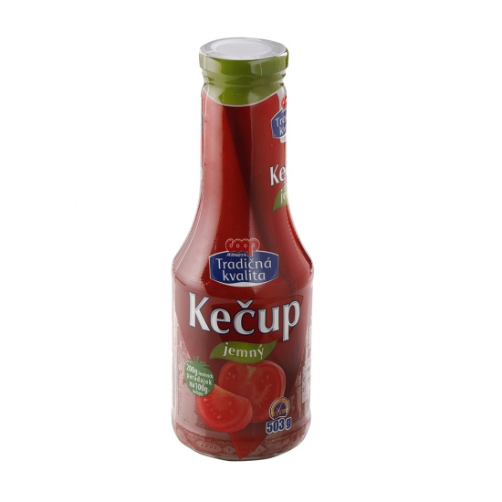 Kečup jemný 503g
