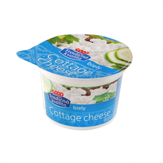 Syr Cottage cheese biely 180g