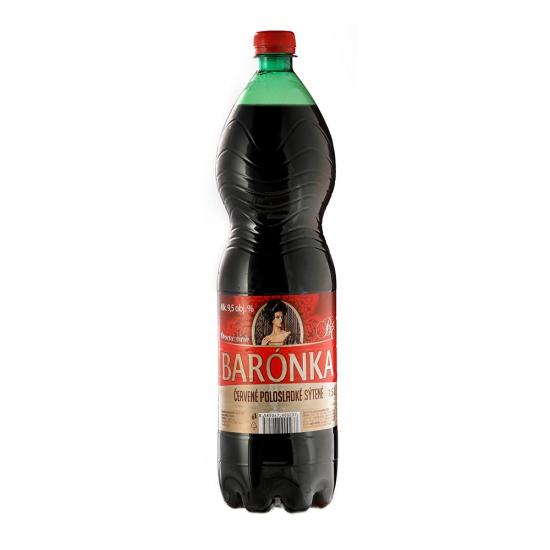 Barónka víno ovovné čer.sýt. 1,5L