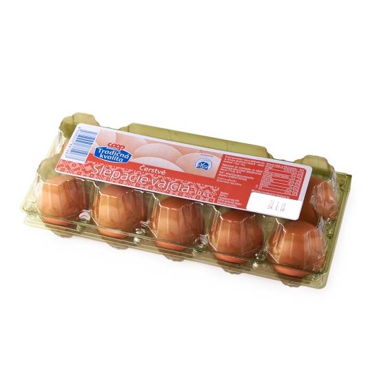 Slepačie vajcia 10ks